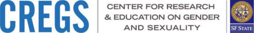 Logos of SF State and Center for Research and Education on Gender and Sexuality